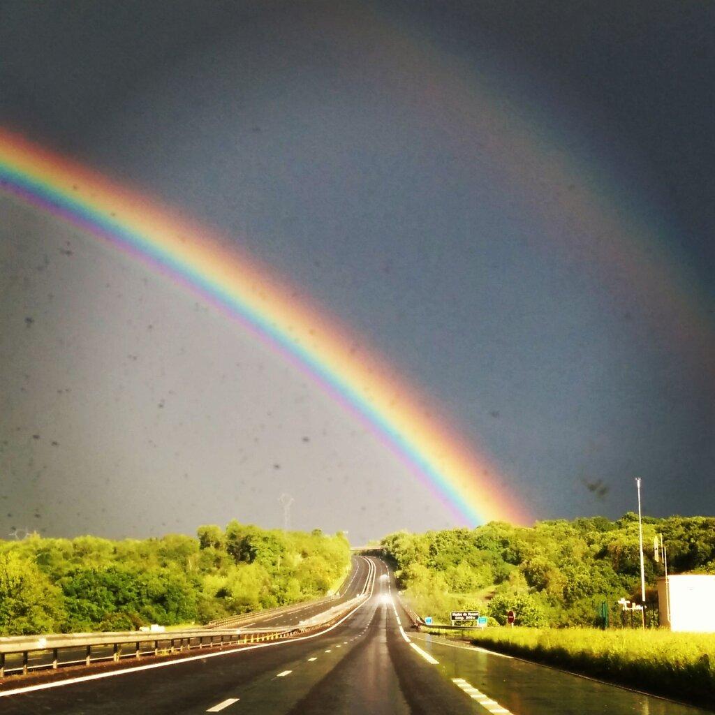 Double rainbow #poney #licorne #BISOUSNOURS #rainbow #arc en ciel