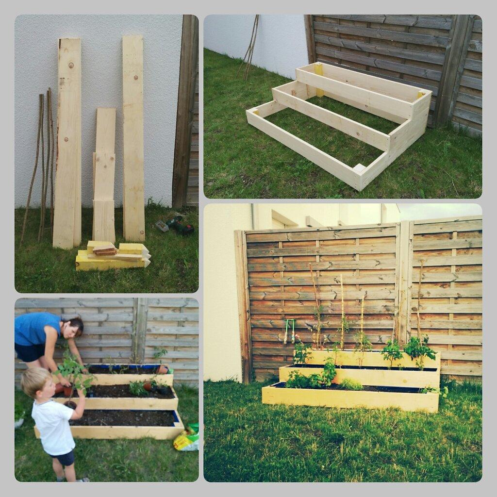 Homemade jardinet. #DIY