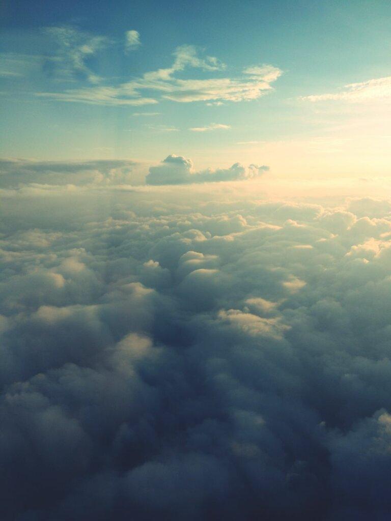 C 'est toujours aussi magique #passionavion #nuage #cloud - sky #Cloudscape