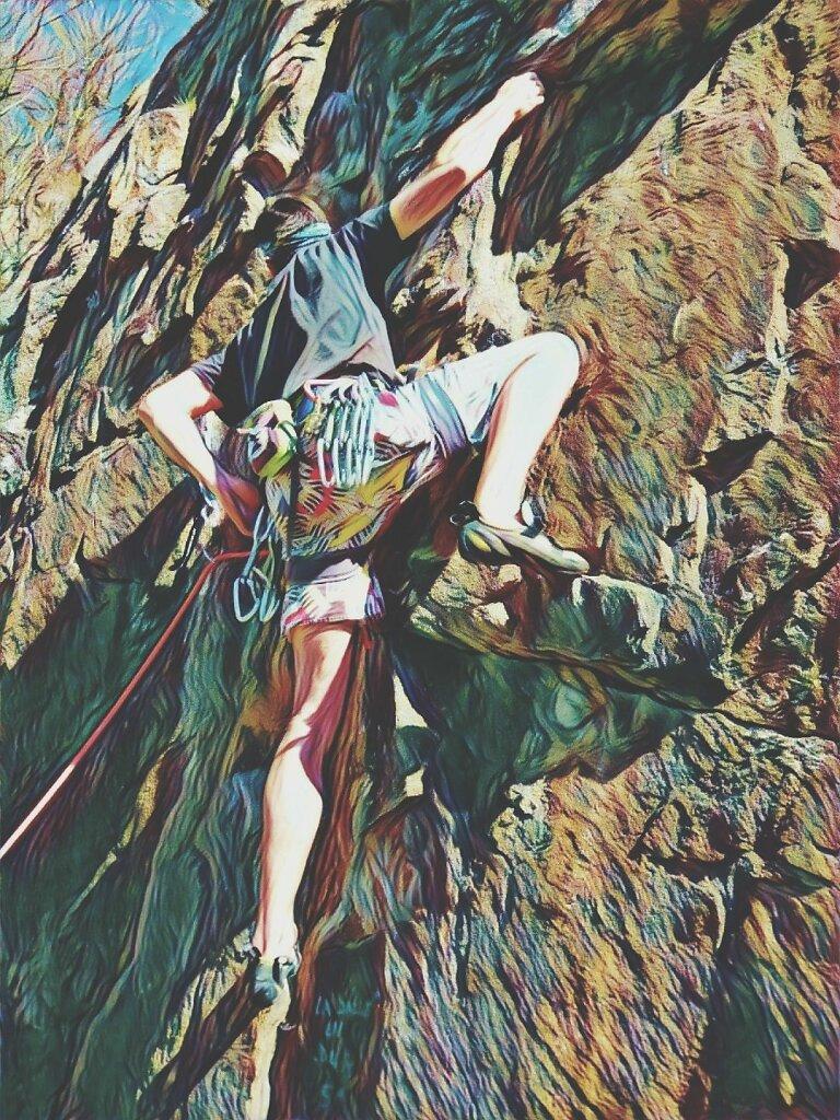 La couv du prochain Grimpe Mag feat Mat #escalade
