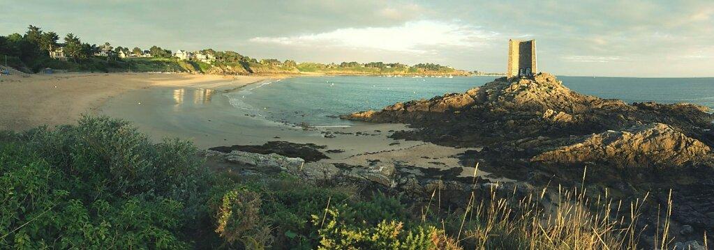 Tour de Port Blanc #Bretagne #mer #plage #lever de soleil