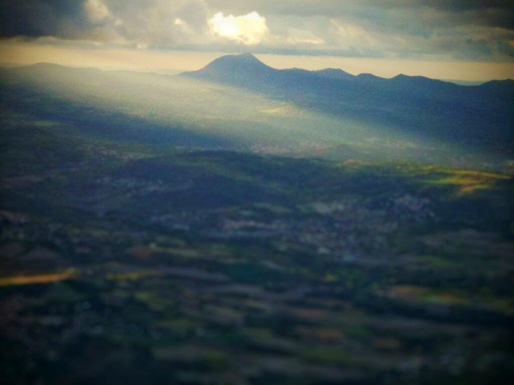 En rentrant ce soir #Montagne #Puy-de-Dome
