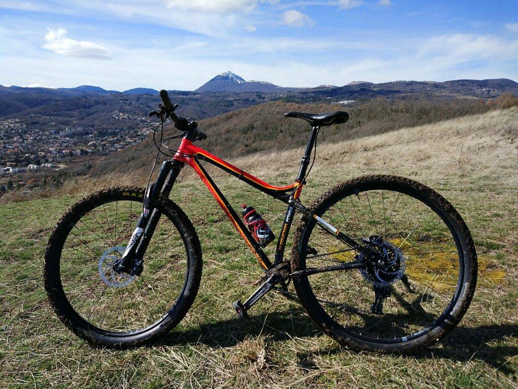 Production Privée Shan GT #Montagne #Puy de Dôme #VTT #MTB #Hardtail #landscape #day #Nature