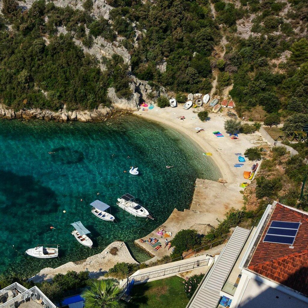 Programme chargé #mer #Méditerranée #plage #Croatia #turquoise #crique