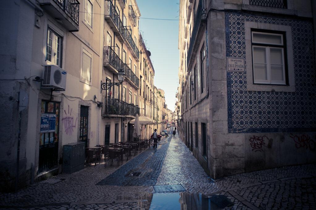 Dans les ruelles de Baixa