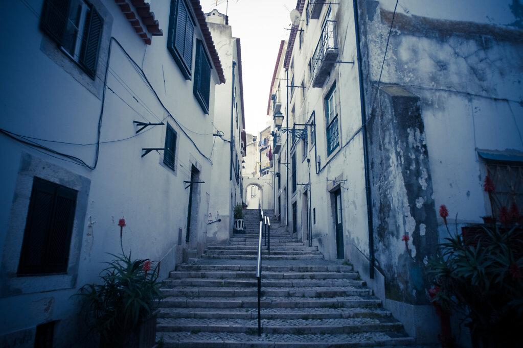 une ruelle de l'Alfama