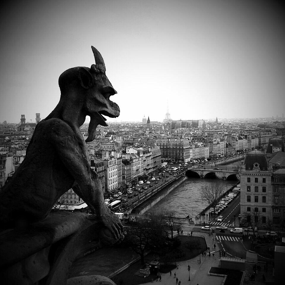 #Notre-Dame #Paris #Gargouille