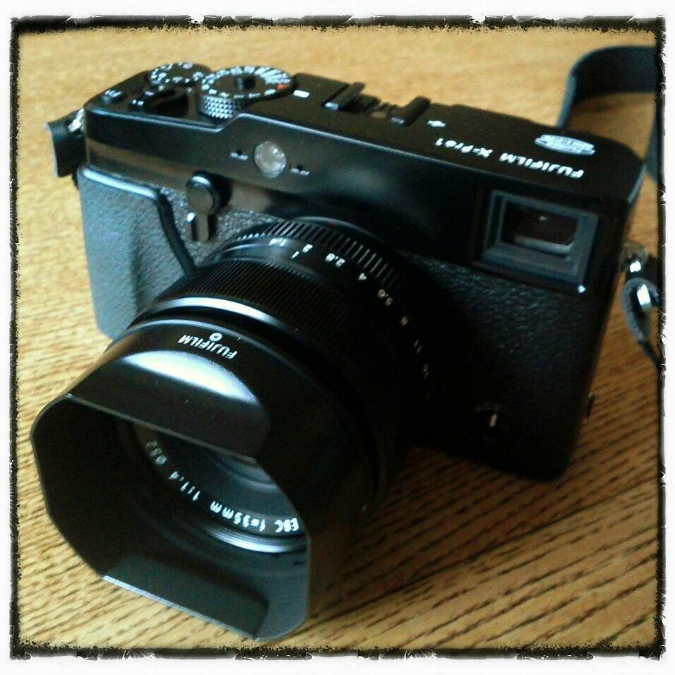 Mon nouveau : fuji x-pro 1 #cameraporn #teamX #x-pro 1 #fujifilm #xpro