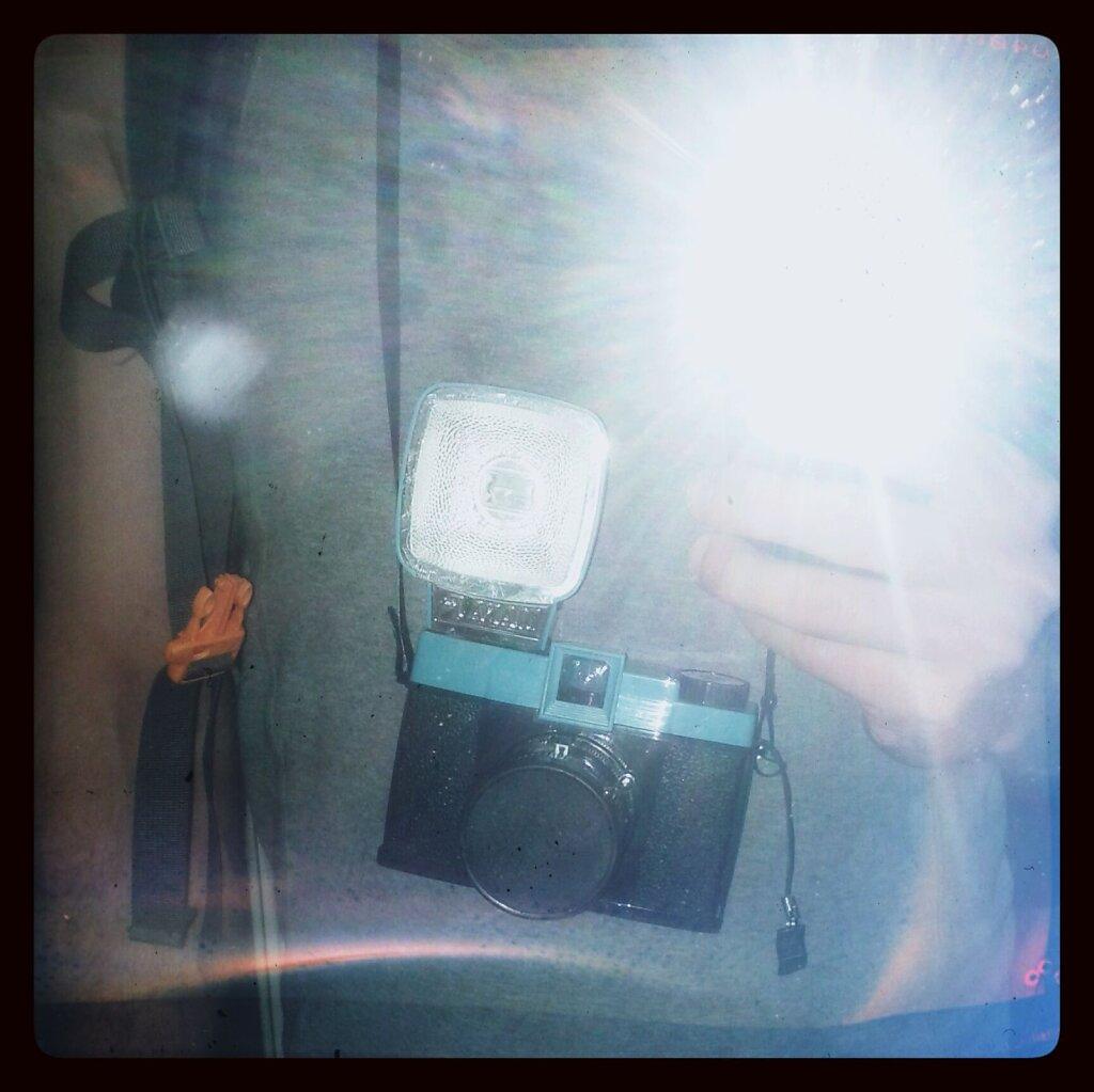 I'm fucking ready #autoportrait #camera porn #Diana F+