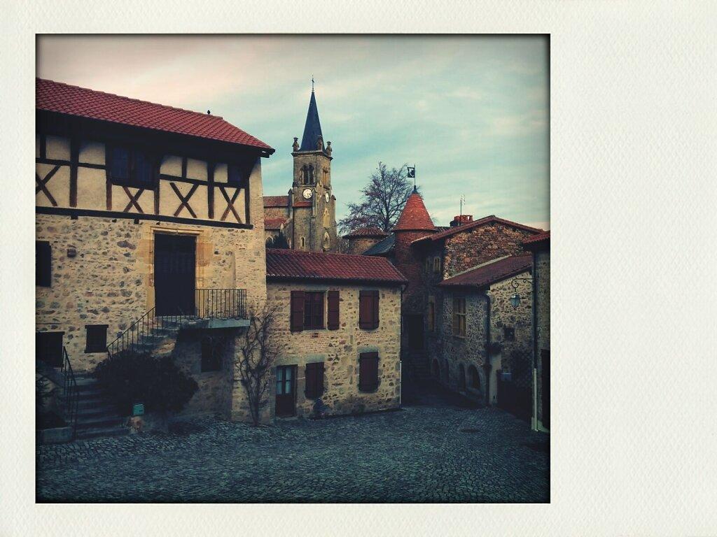 Le crozet #village #medieval