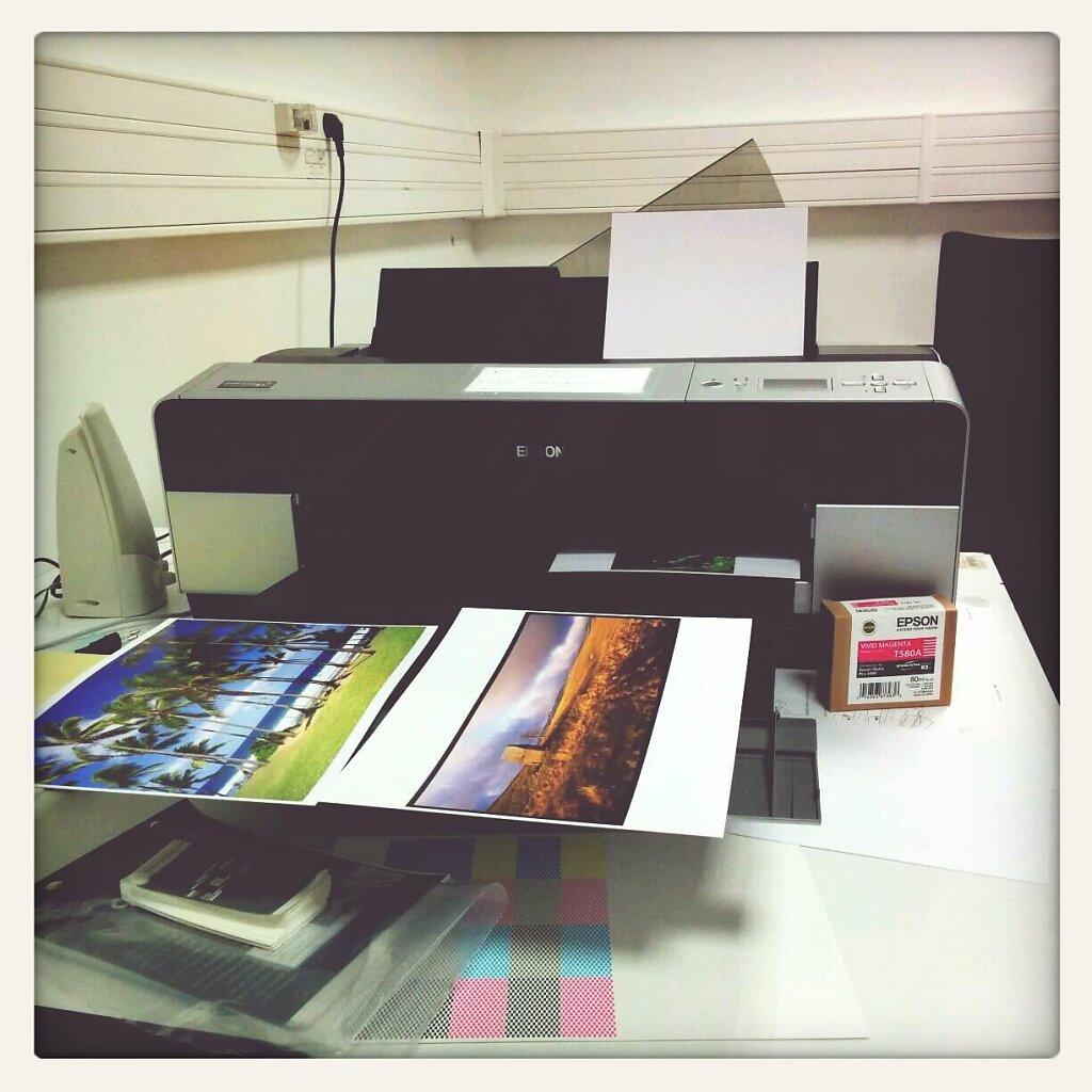 Ce soir, Je fais fumer la 3880 #Printing