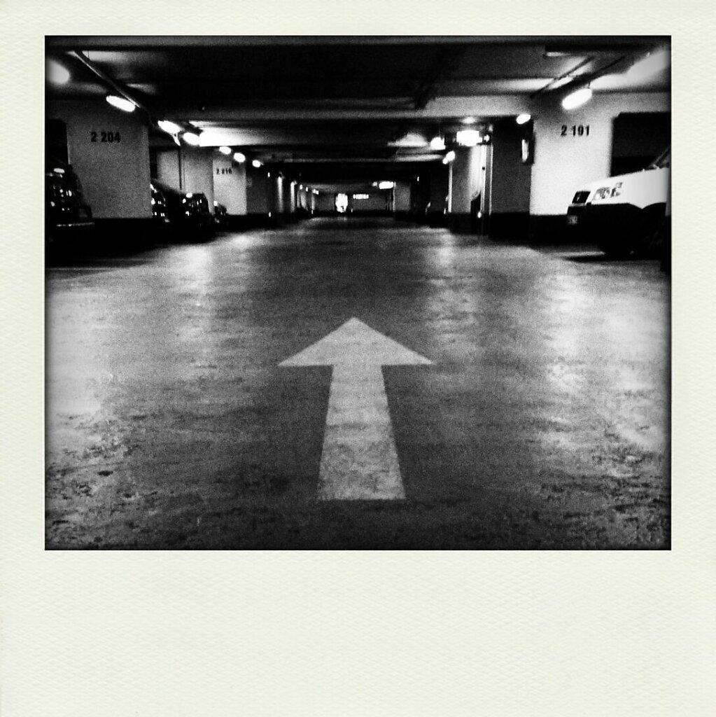 forward ever, backward never #Black & White