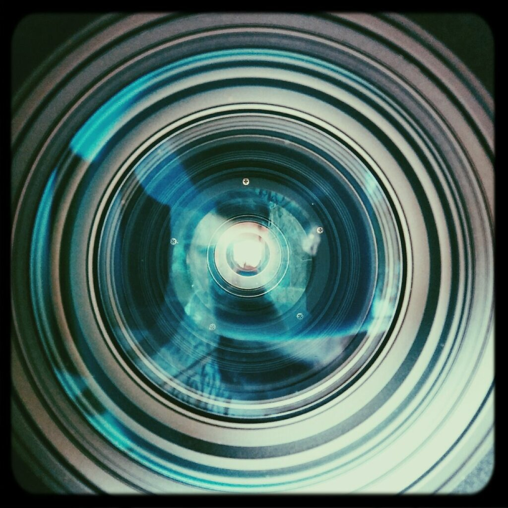 Inside a 800 mm #cameraporn #camera porn #abstract #selfie