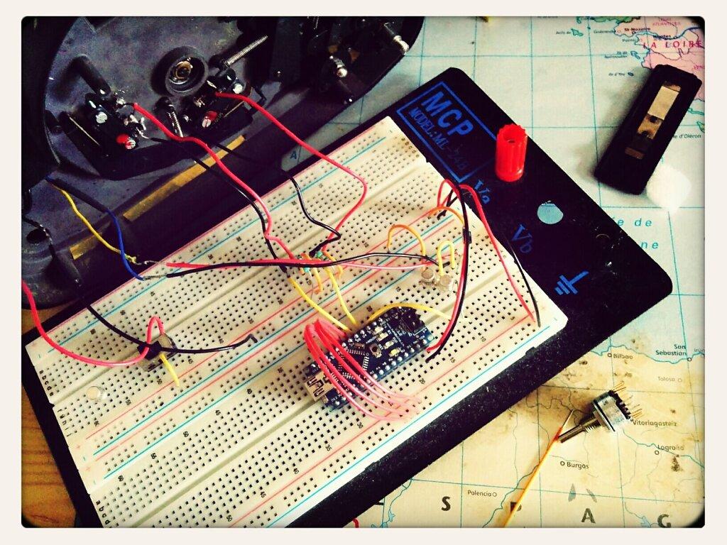 Essayons d'avancer le projet #arduino. #TEMPSDEMERDE #noblex