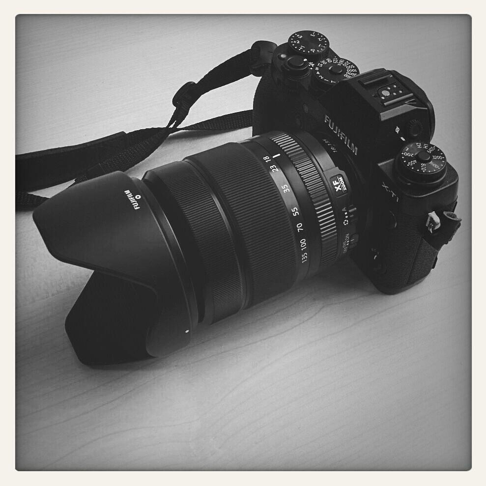 #cameraporn #Fuji X-T1 with XF 18-135mm #fuji