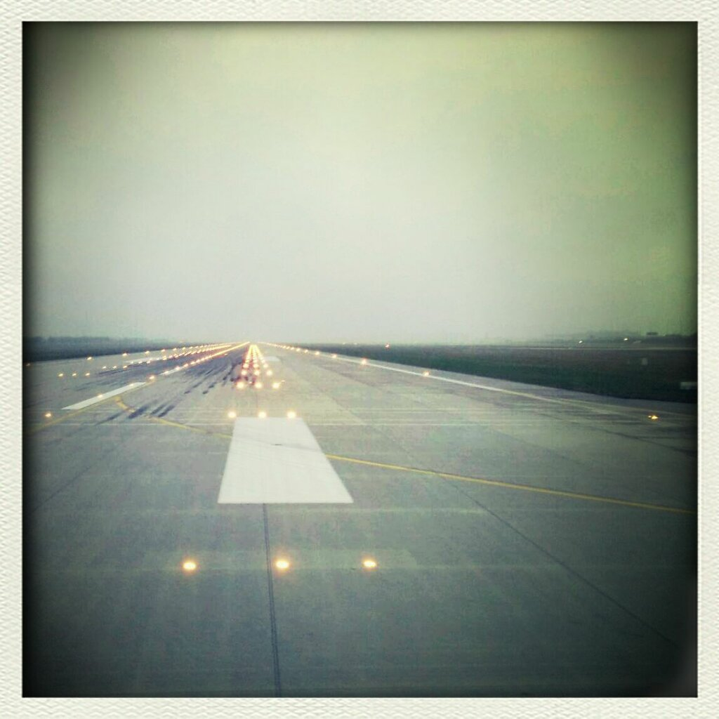 Back to home. it was a ruff week end #airport