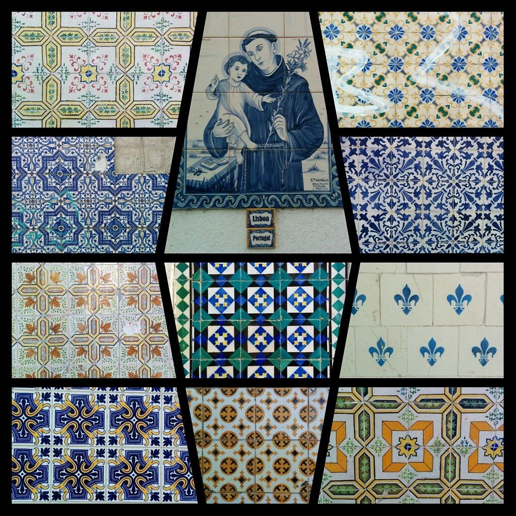 Lisboa #azulejos #Lisbonne #streetart