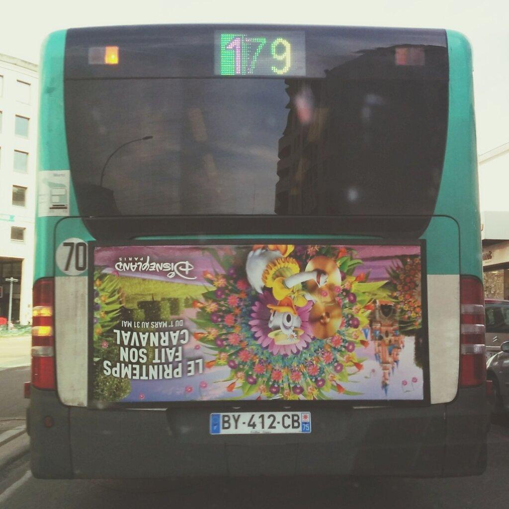 Realisé sans trucage #fail #ratp #bus #streetphotography