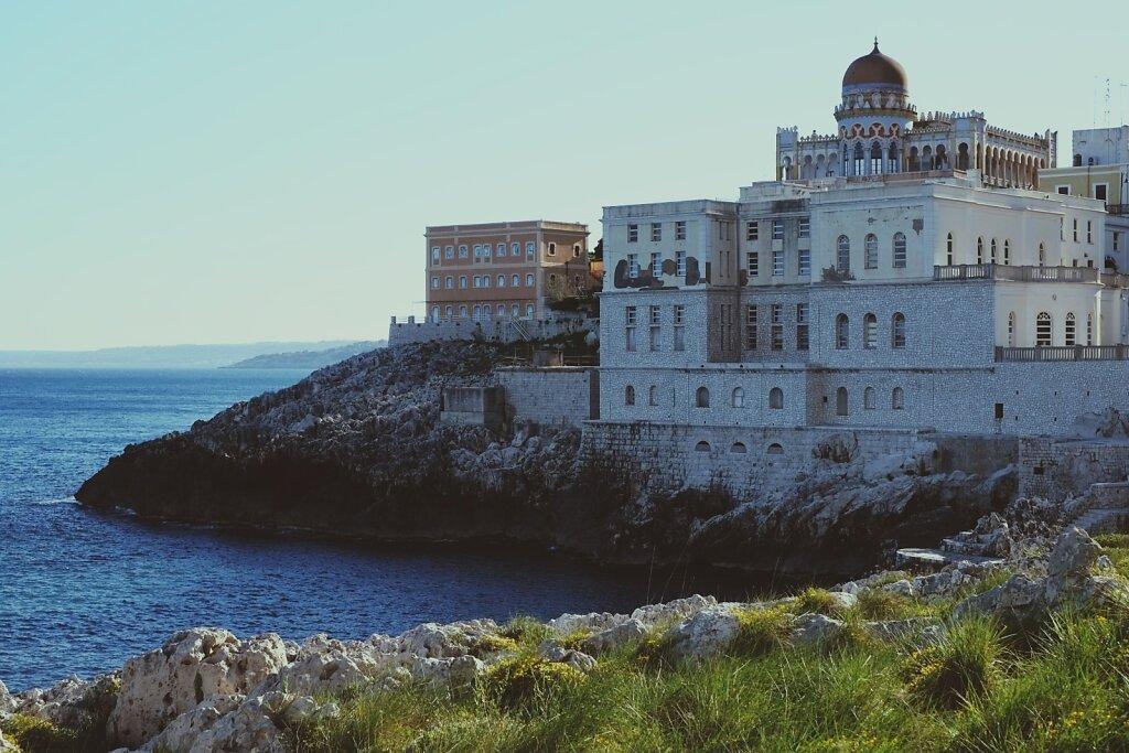 Santa Cesarea Terme #Coastline #Puglia #Holidays