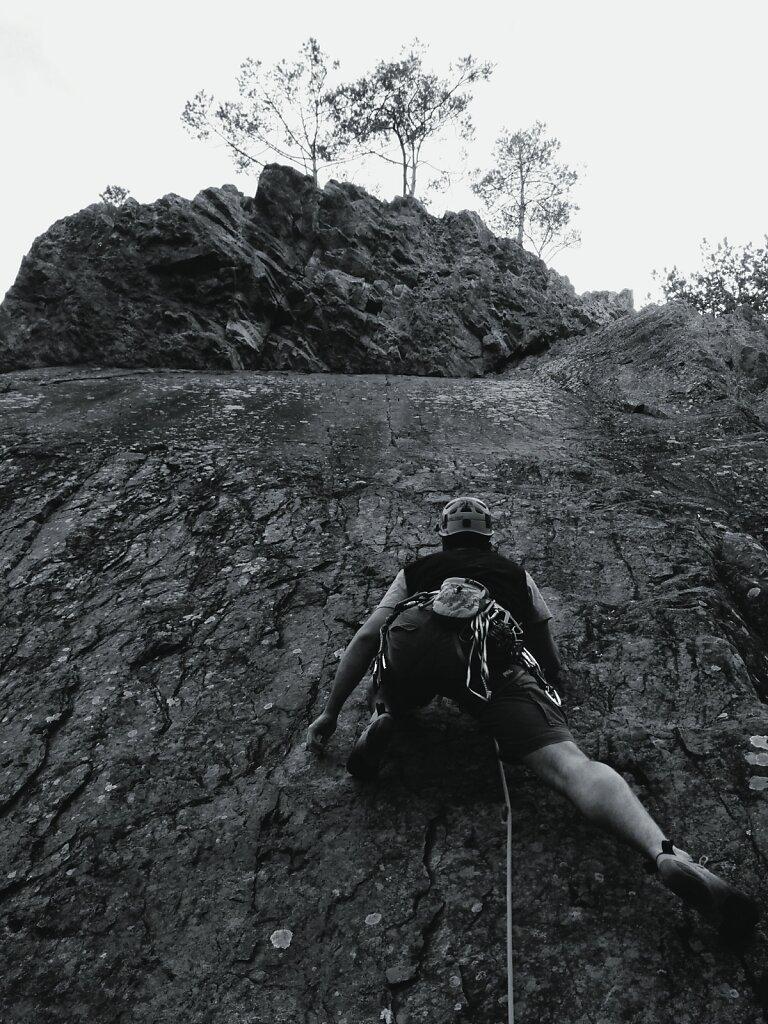 Petite session apres le taf. #escalade #climbing