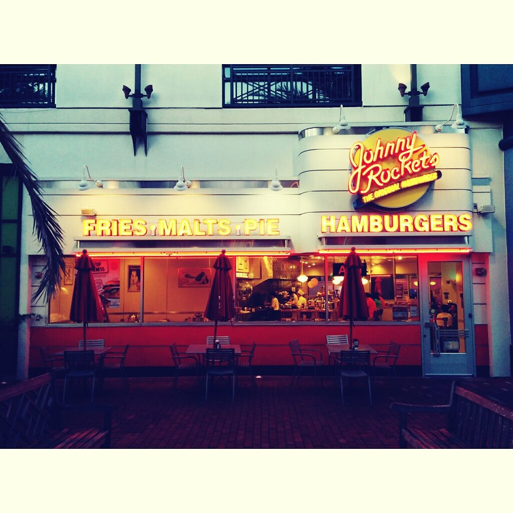 Johnny Rockets #hamburger #United States