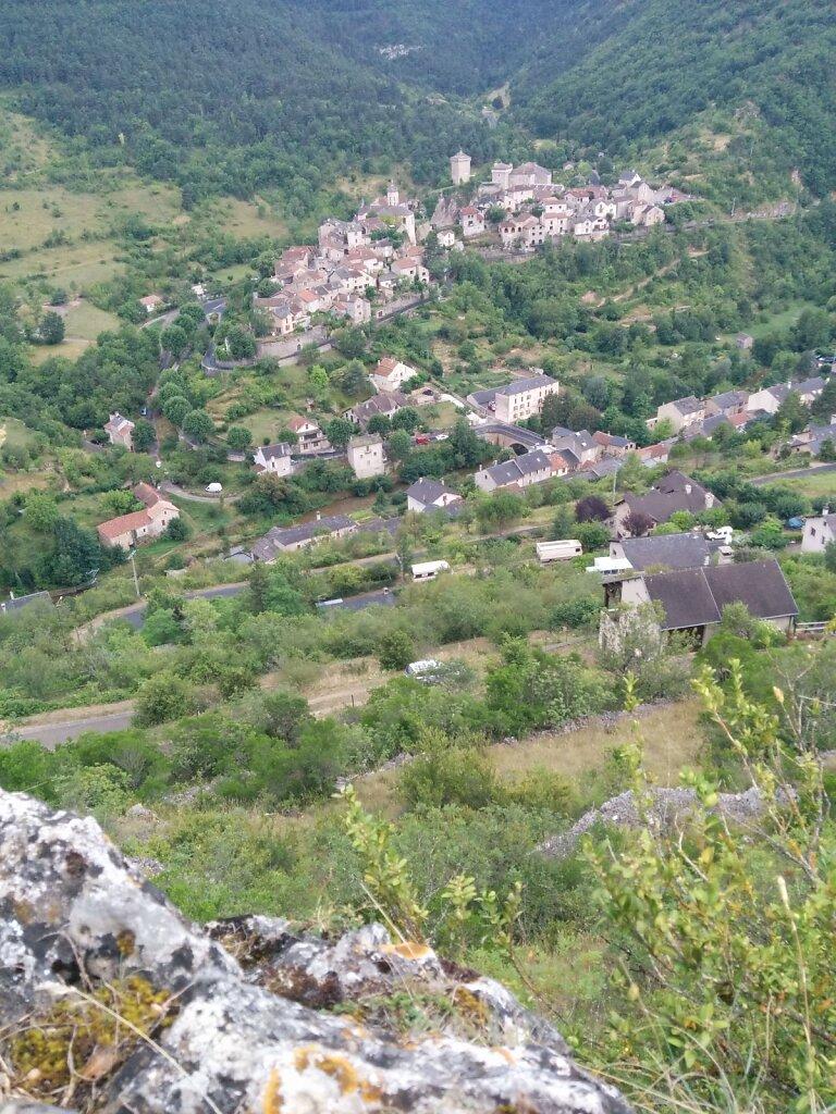 Peyreleau depuis Capluc