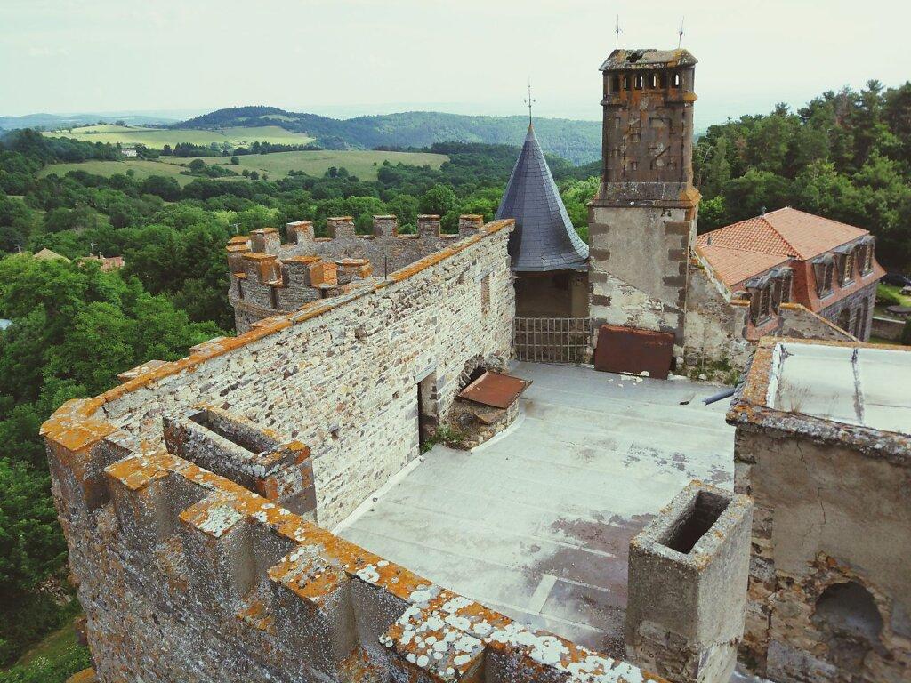 Chateau de chazeron #Architecture #château