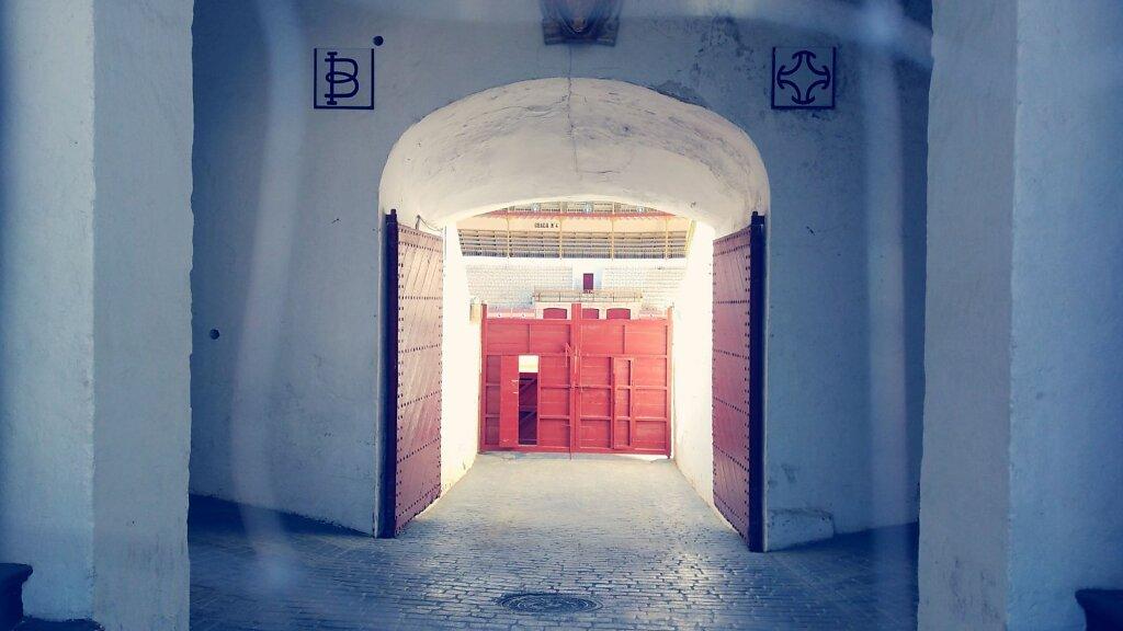 plaza de tortura ? #porte #arene #espagne #Almería #Architecture