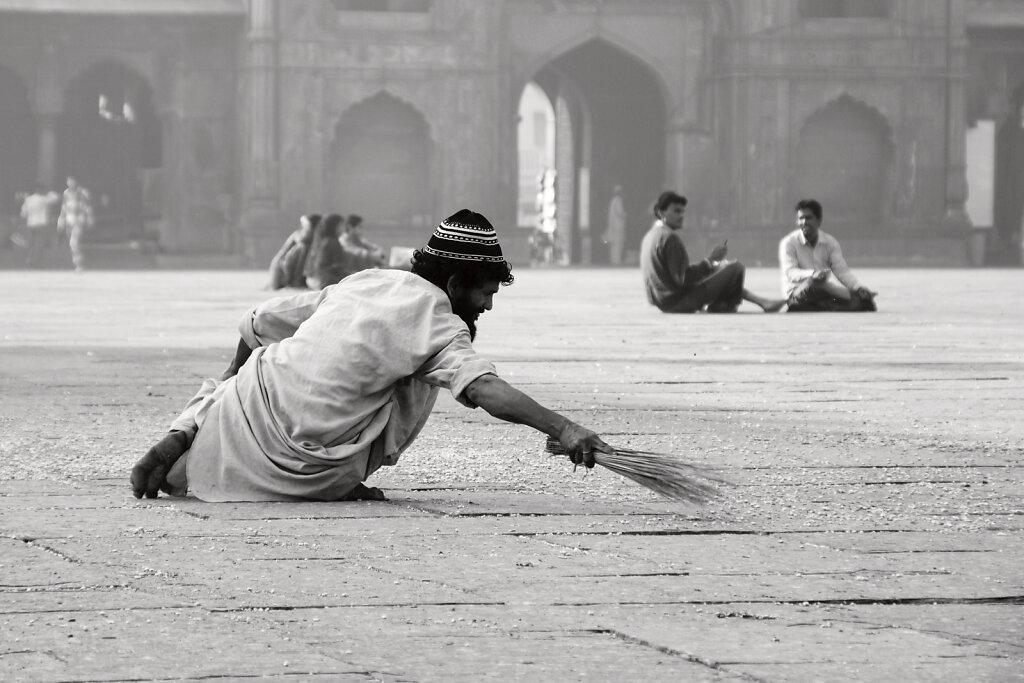 Le Balayeur de Jama Masjid