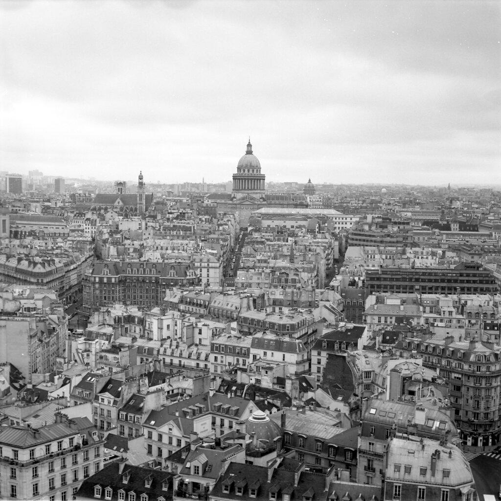 Le Panthéon depuis Notre Dame