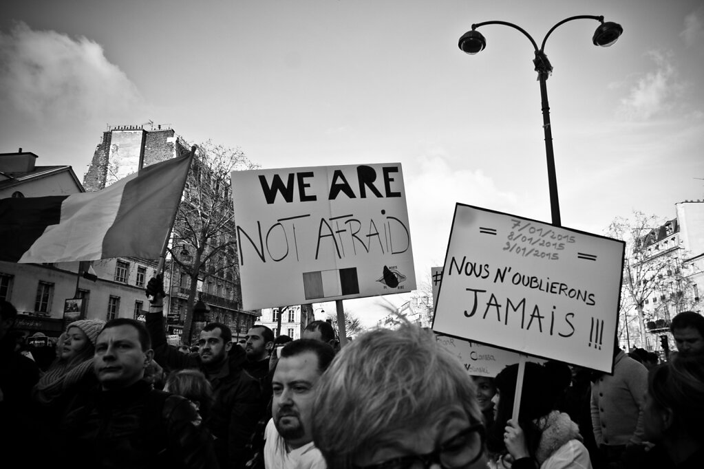 We Are Not Afraid #JeSuisCharlie