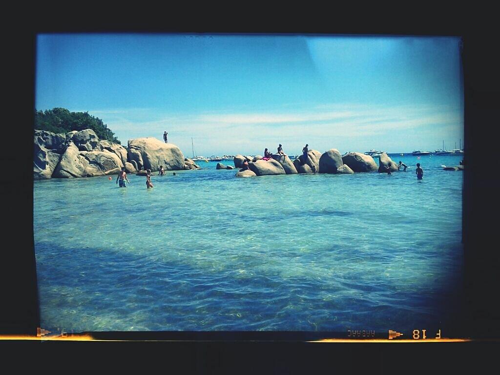 #cliché #sea #sun #rocks #corsica
