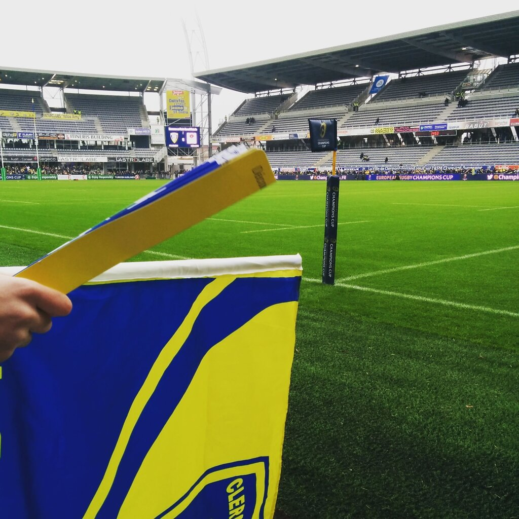 Apres-midi coupe d'Europe. #ASM #ulster