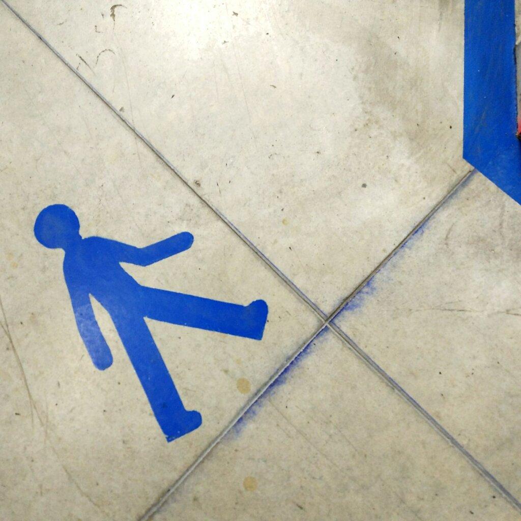 Marquage horizontal #pieton #signaletique