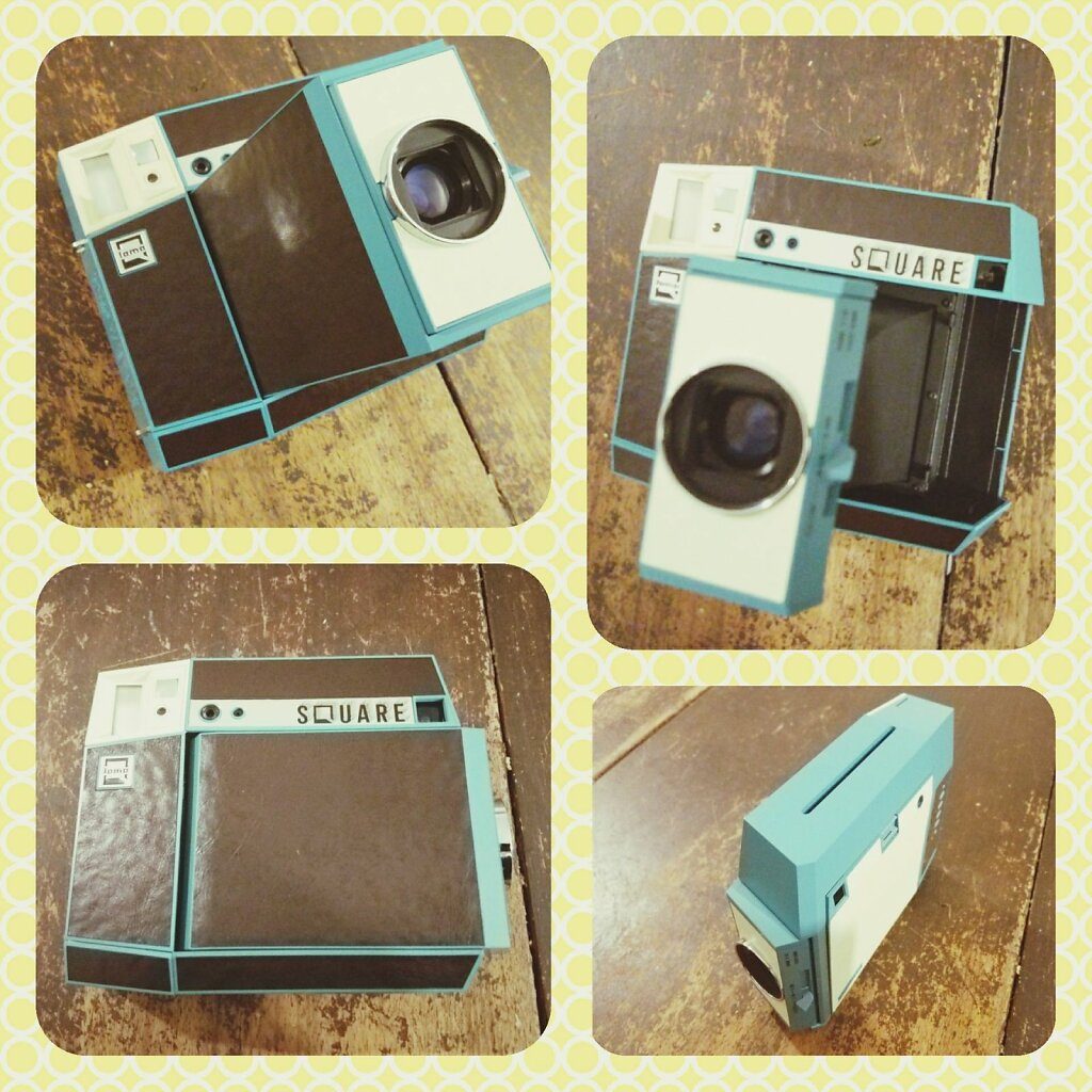 I just received my lomo'instant square #Lomography #instaxsquare #Instax #technology #washing machine #photography themes #computer #wireless technology #no people #day