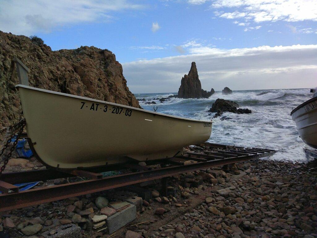 Las Sirenas #paysage marin #mer #espagne #andalousie #bateau